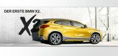 DER ERSTE BMW X2.